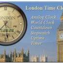 London Time Clock freeware screenshot