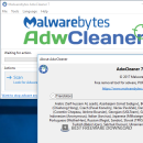 AdwCleaner freeware screenshot