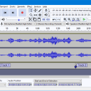 Audacity for Linux freeware screenshot