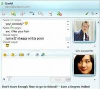 Windows Live Messenger 2008 screenshot