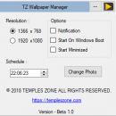 TZ Wallpaper Manager freeware screenshot