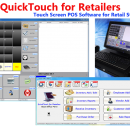 QuickTouch for Retailers POS Software freeware screenshot