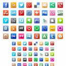 Volumetric Social Media Icons freeware screenshot