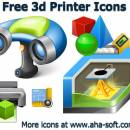 Free 3d Printer Icon Set freeware screenshot