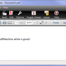 pdfMachine white freeware screenshot
