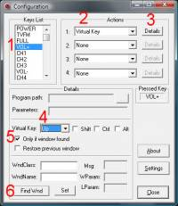 Winfast Remote Control Support freeware screenshot