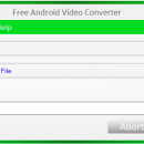 Free Android Video Converter freeware screenshot