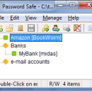 Password Safe freeware screenshot
