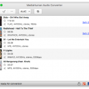 MediaHuman Audio Converter MAC freeware screenshot