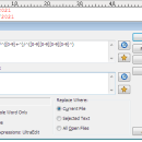 Regular Expression Find freeware screenshot