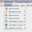 Personal Finance Assistant (FAssistant) freeware screenshot