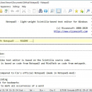Notepad3 freeware screenshot