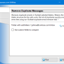 Remove Duplicate Messages for Outlook freeware screenshot