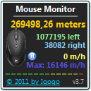 Mouse Monitor freeware screenshot