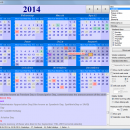 Ultimate Calendar freeware screenshot