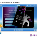 3DPageFlip Free Flash eBook Maker freeware screenshot